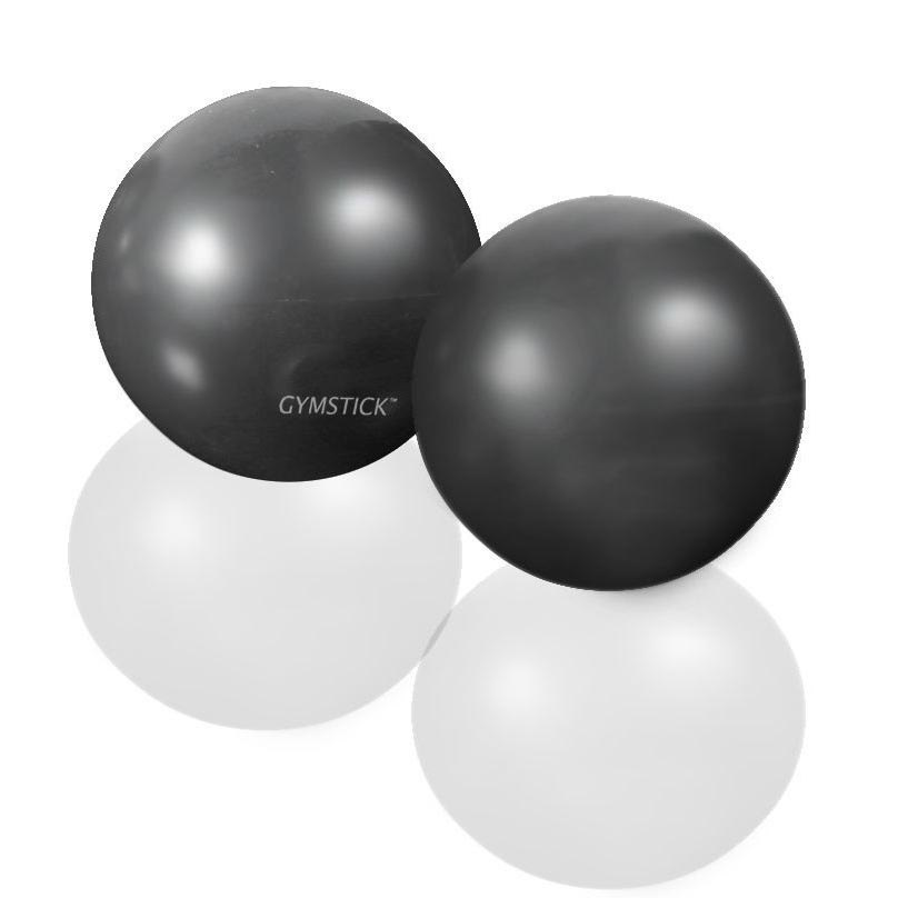 Gymstick Exercise Weight Ball 2 X 1kg 1 Kg Black