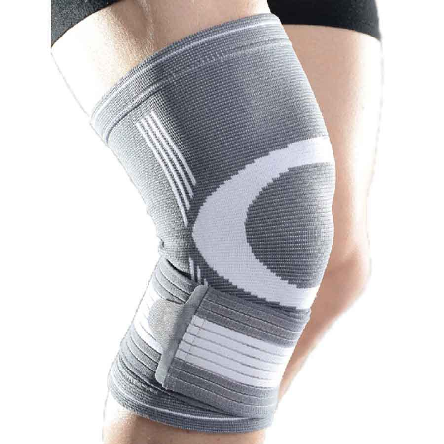 Gymstick Knee Support 1.0 One Size Grey / White