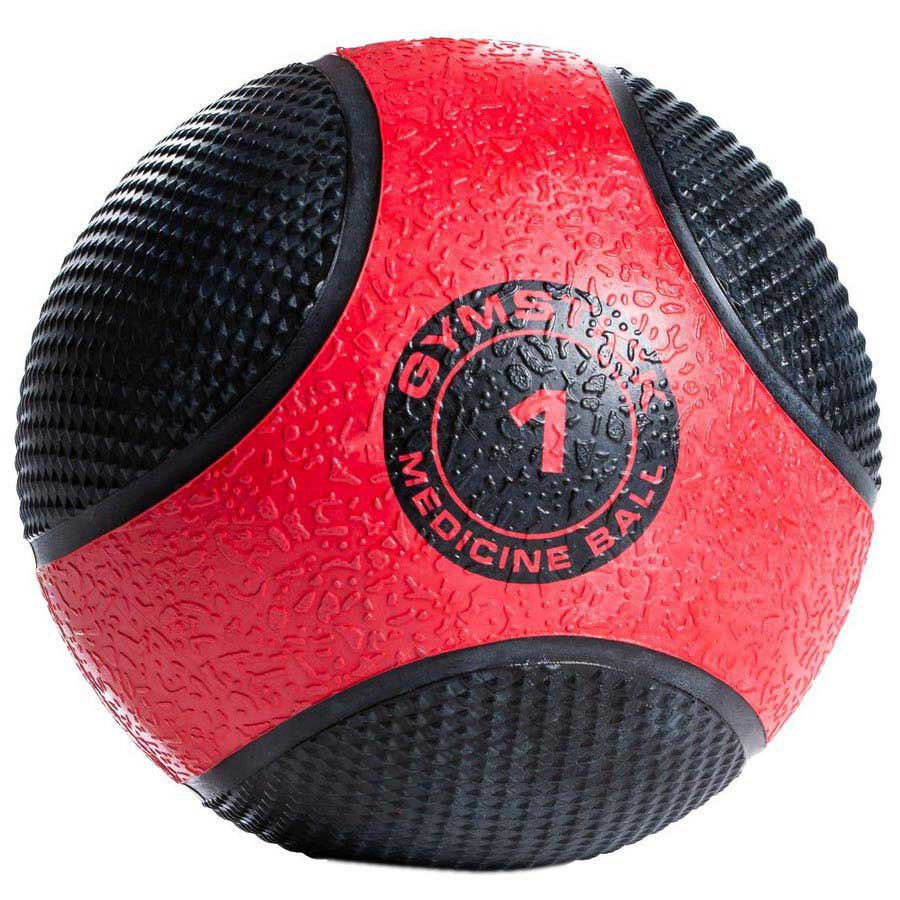 Gymstick Rubber 1kg 1 kg Black / Red