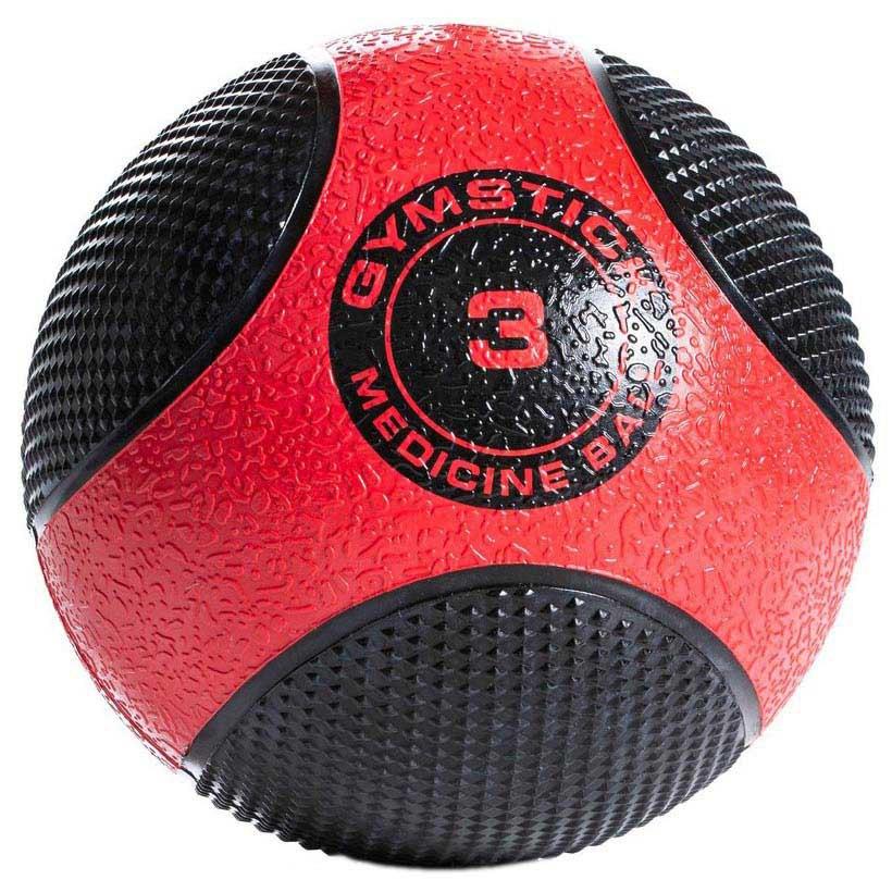 Gymstick Rubber 3kg 3 kg Black / Red