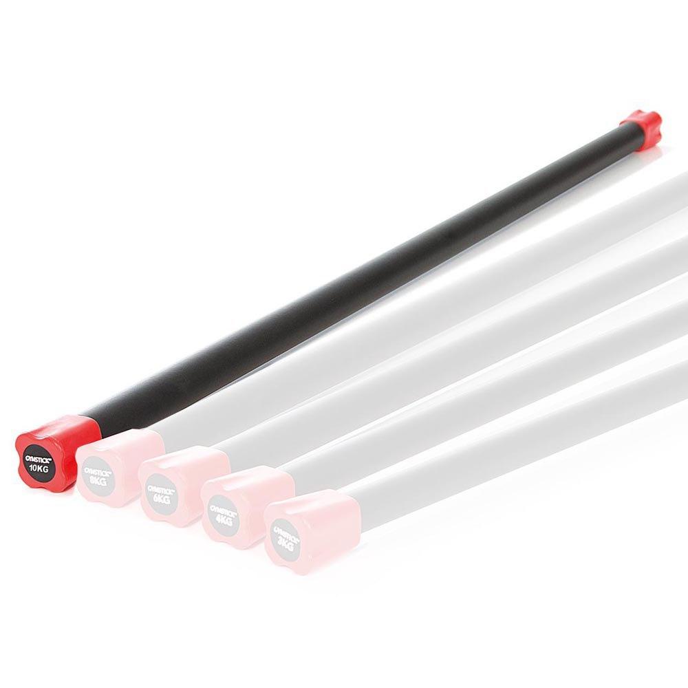 Gymstick Aerobic Bar 10 Kg 10 kg Black / Red