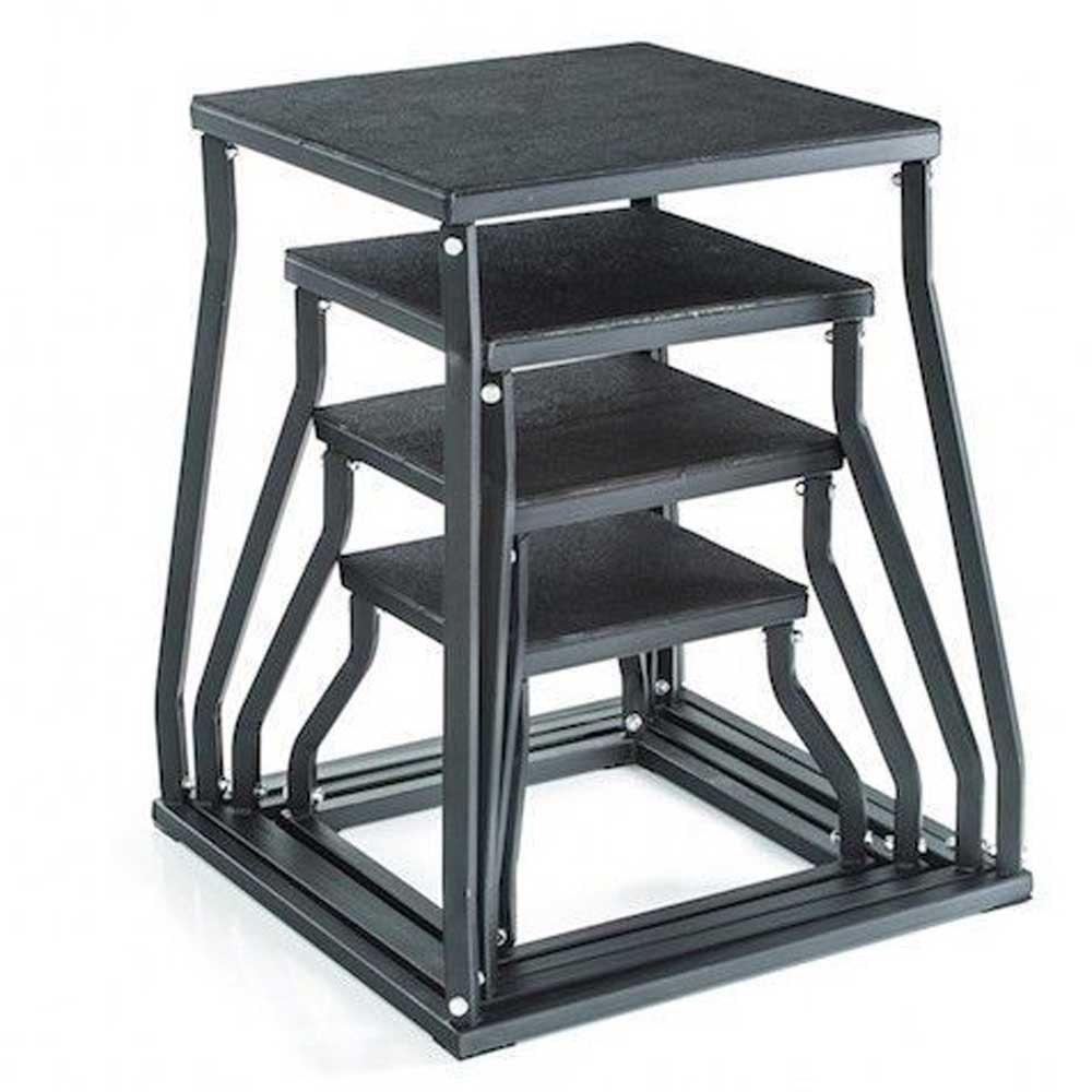 Gymstick Plyobox 30 Cm 43x43x30 cm Black