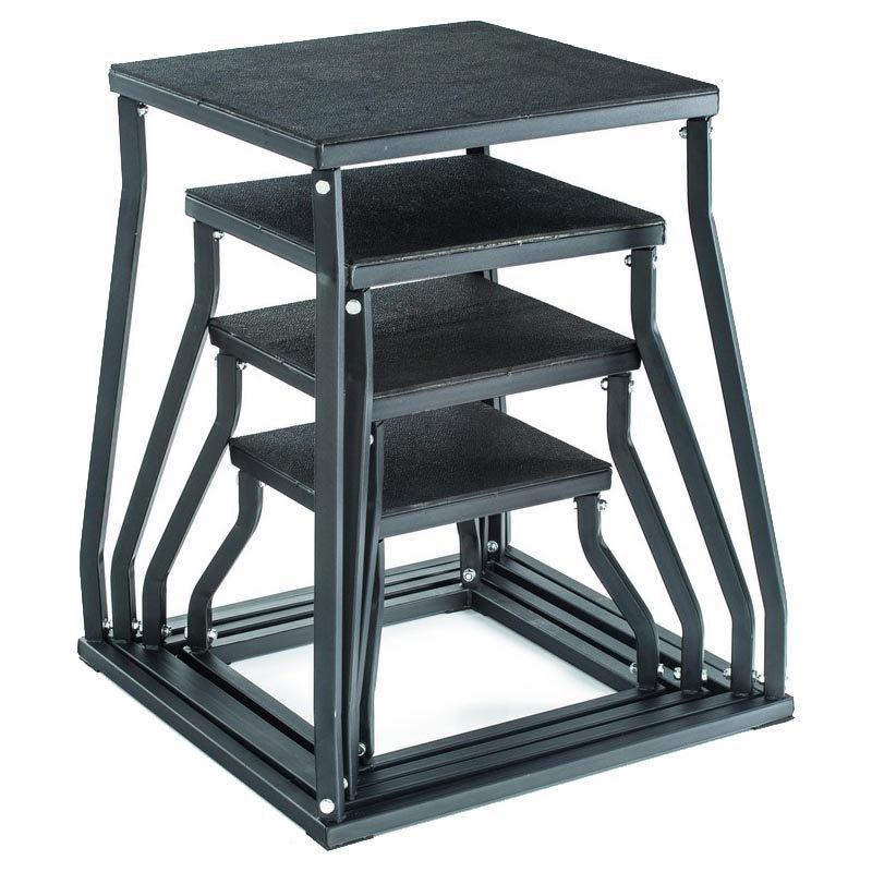 Gymstick Plyobox 60 Cm 58x58x60 cm Black