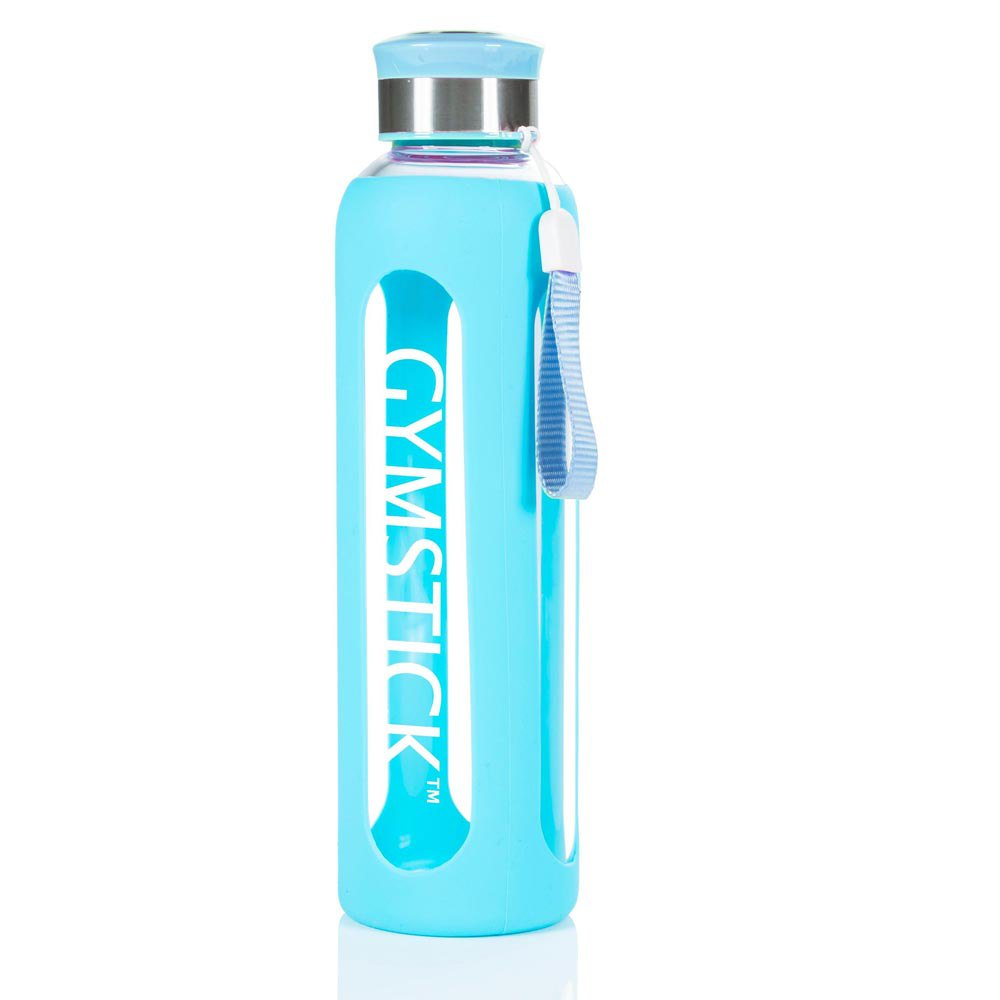 Gymstick Glass Water 600ml One Size Turquoise