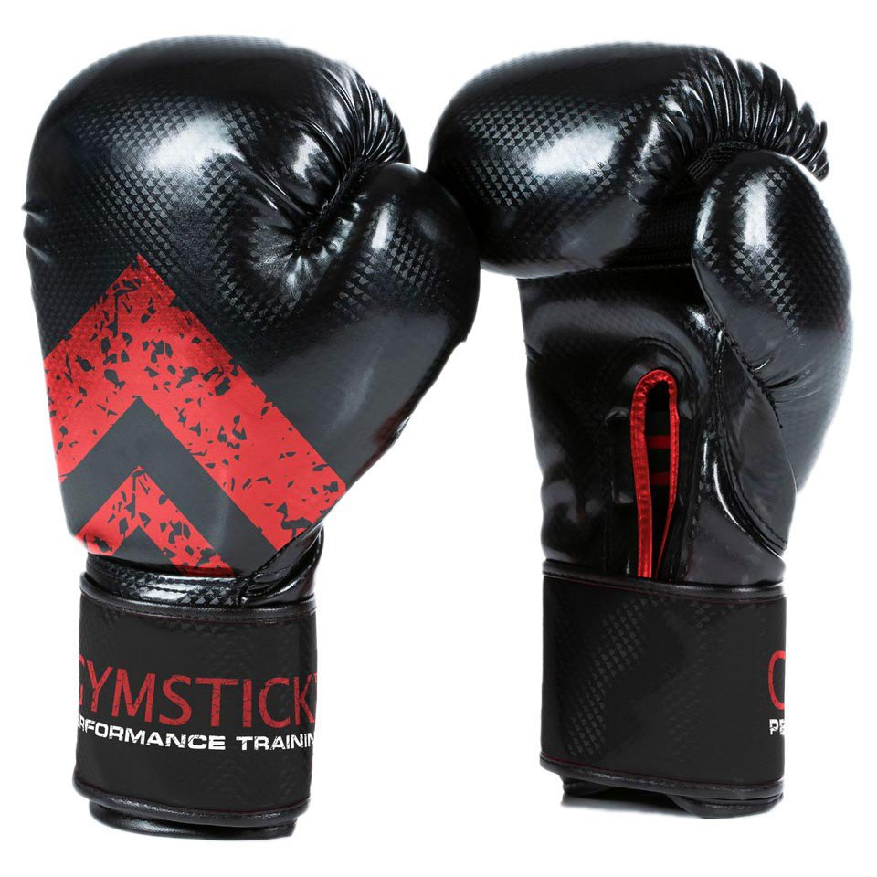 Gymstick Boxing 10oz Black / Red
