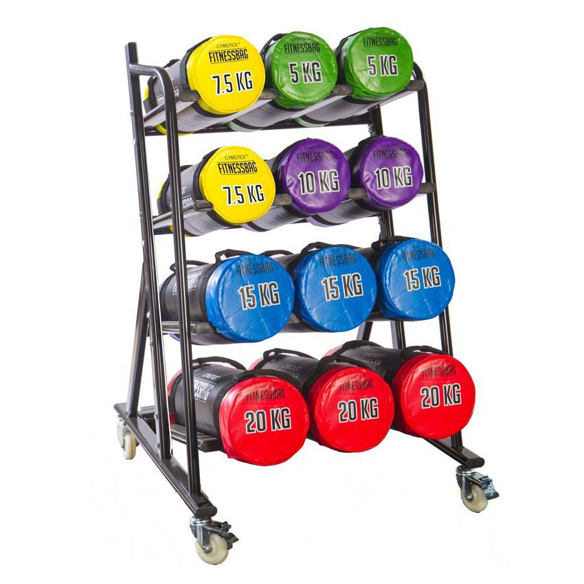Gymstick Rack For Fitness Bags 76x82x127 cm Black