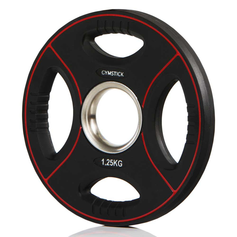 Gymstick Pro Pu Weight Plate 1.25kg Unit 1.25 Kg Black / Red