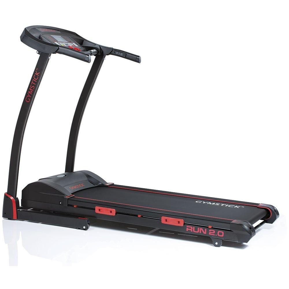Gymstick Tapis De Course Titanium Run 2.0 162 x 75 x 123 cm Black / Red