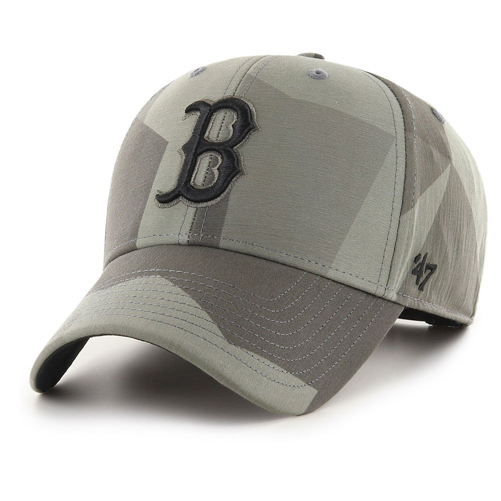47 Mlb Boston Red Sox Countershade Mvp One Size Grey / Black