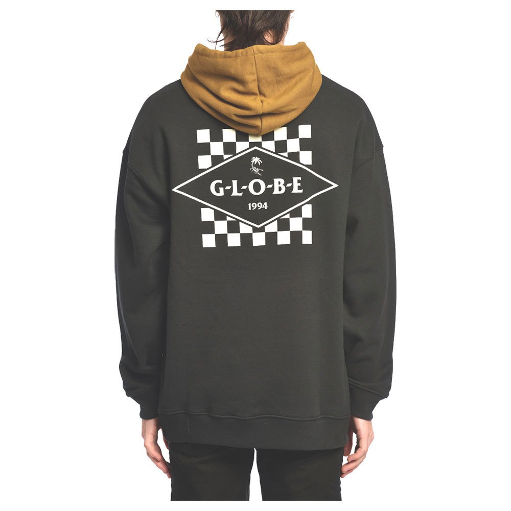 Globe Check Out XL Washed Black