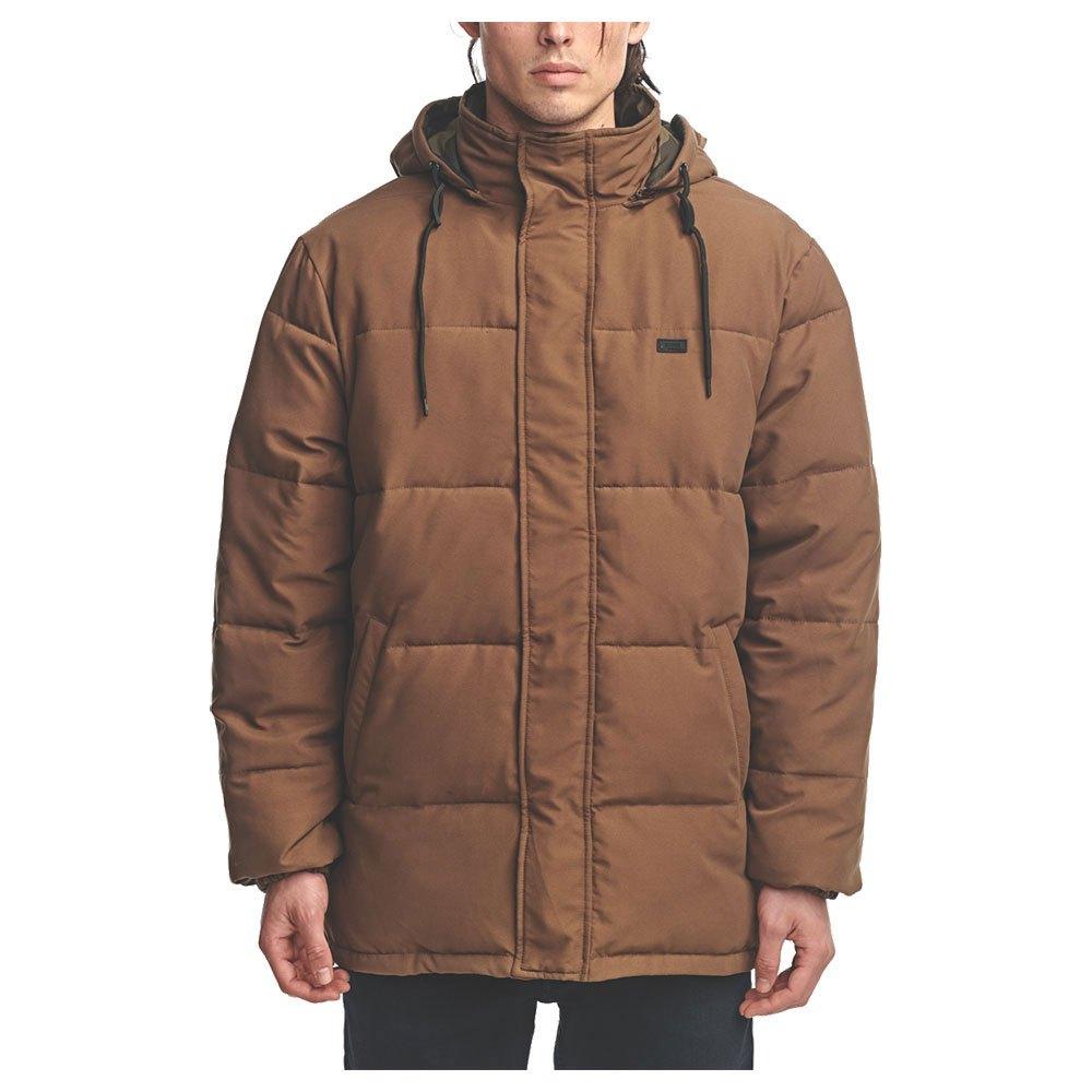 Globe Ignite Reversible Puffer Jacket M Bark