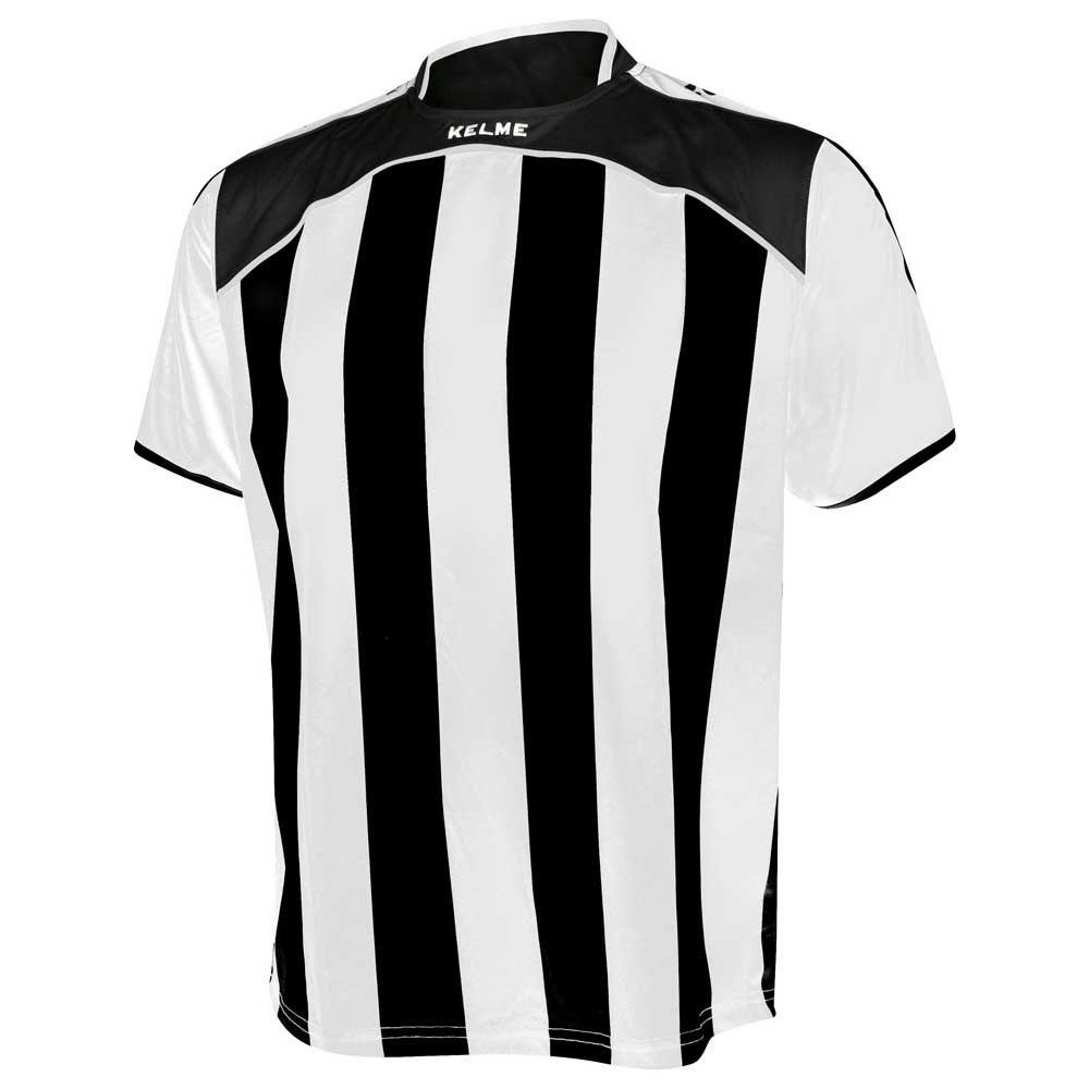 Kelme T-shirt Manche Courte Liga XXXXS White / Black