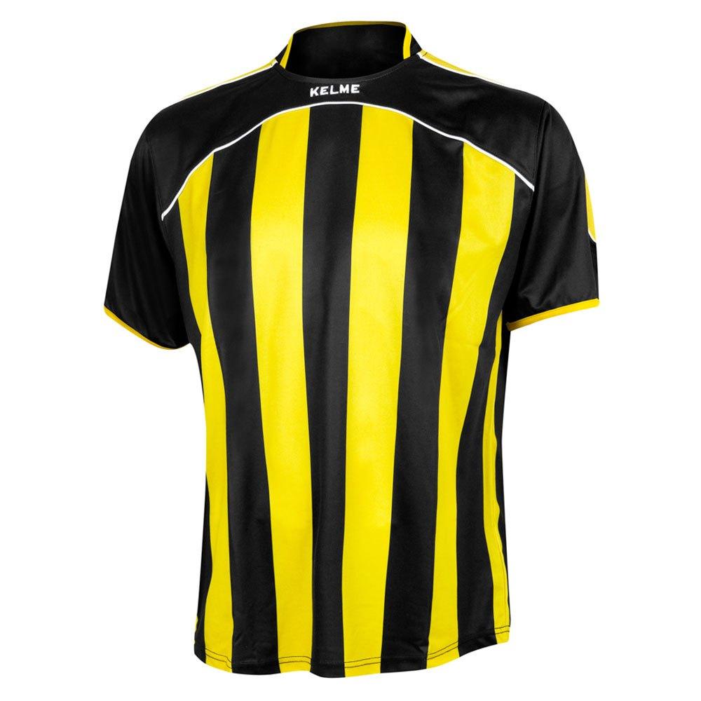 Kelme T-shirt Manche Courte Liga 6XS Black / Yellow