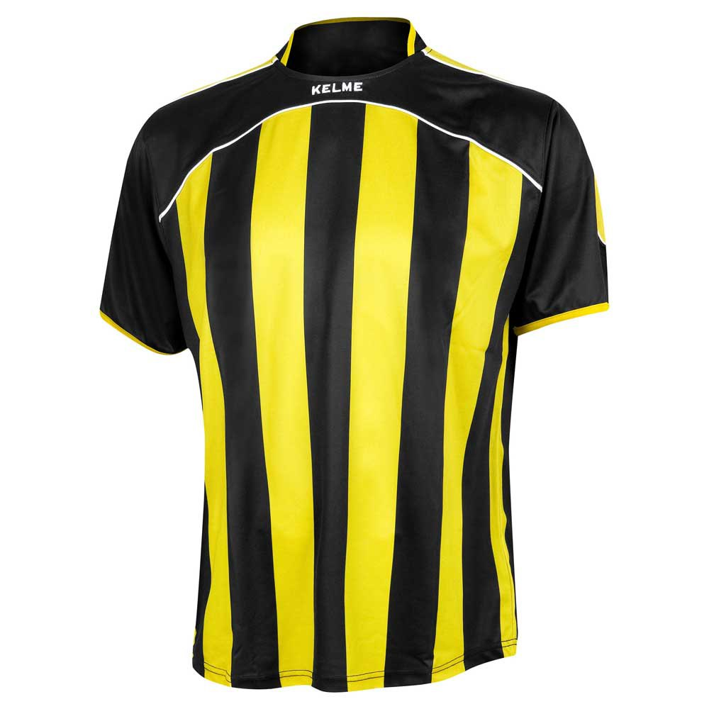 Kelme T-shirt Manche Courte Liga XXXXS Black / Yellow