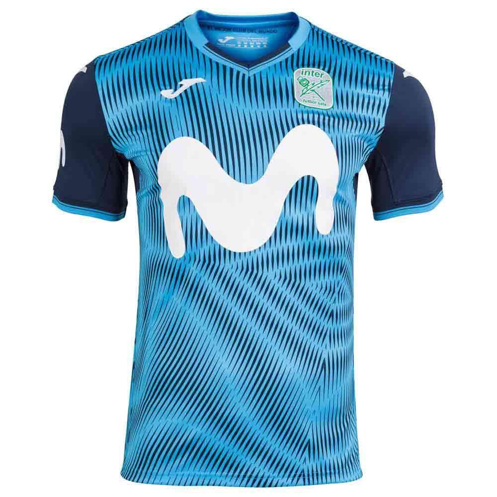 Joma T-shirt Inter Movistar Domicile 20/21 S Turquoise