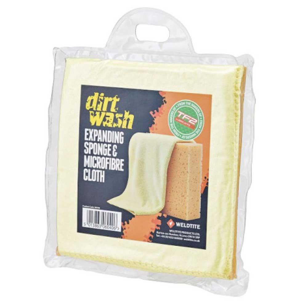 Fasi Sponge And Microfibre Cloth Cleaning Set One Size Beige