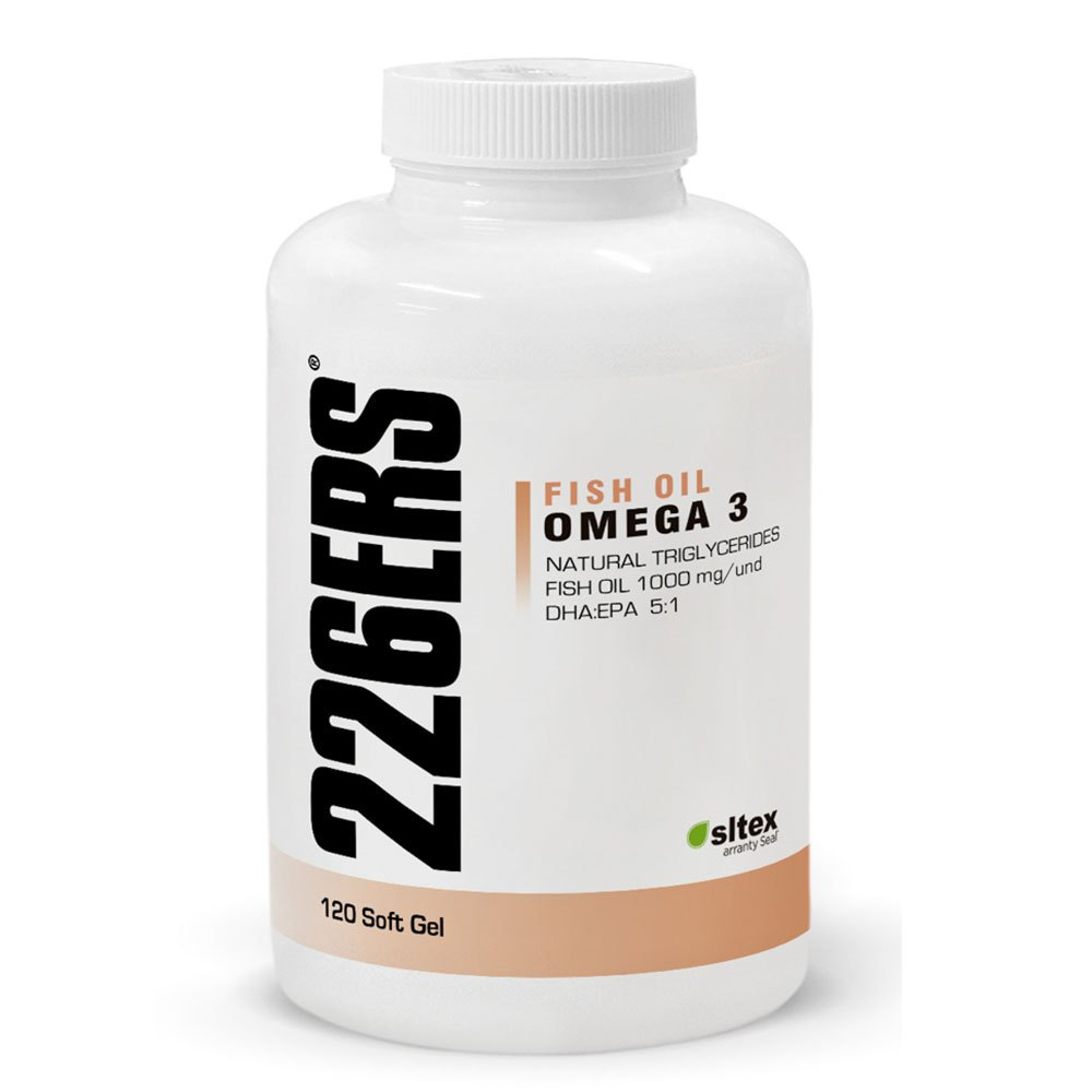 226ers Fish Oil Omega 3 120 Units Neutral Neutral