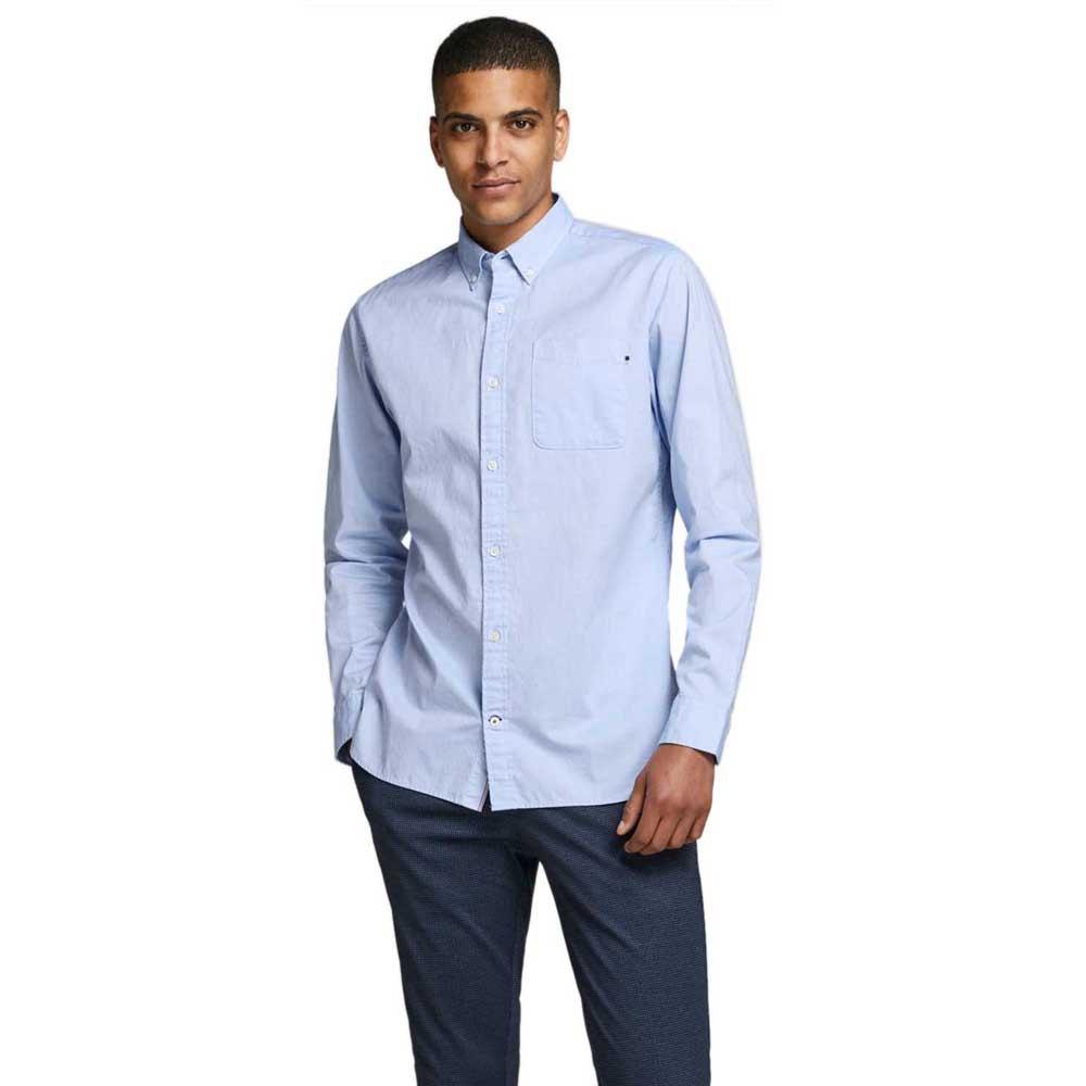 Jack & Jones Classic Soft Oxford XL Cashmere Blue / Slim Fit