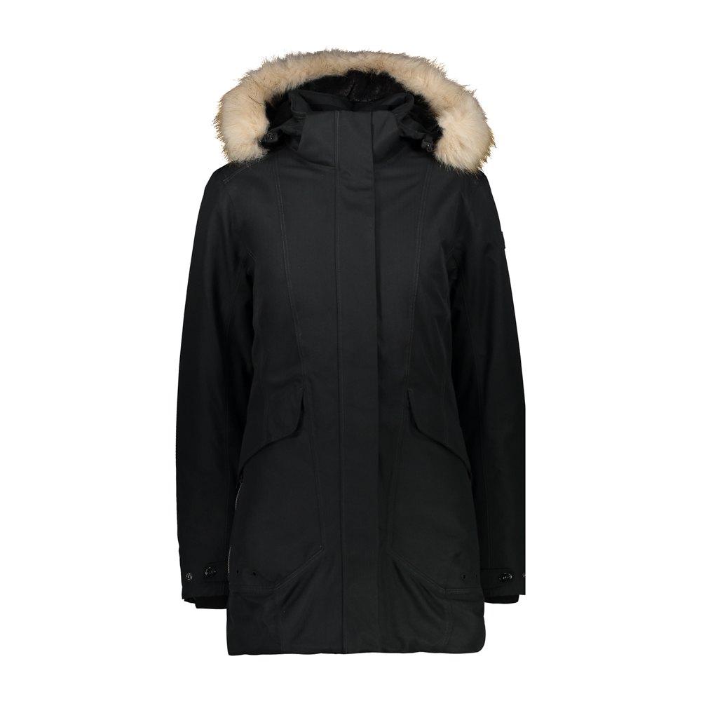 Cmp Parka Jacket XXS Black
