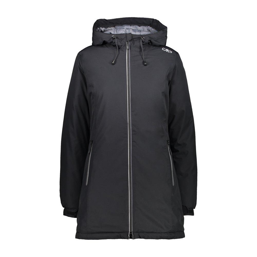 Cmp Parka Fix Hood Jacket XXS Black