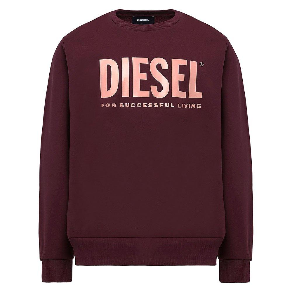 Diesel Division Logo L Maroon / Red