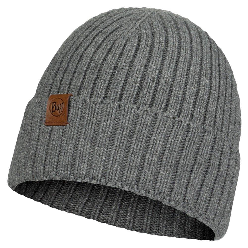 Buff ® Knitted Hat One Size N-Helle Grey Castlerock