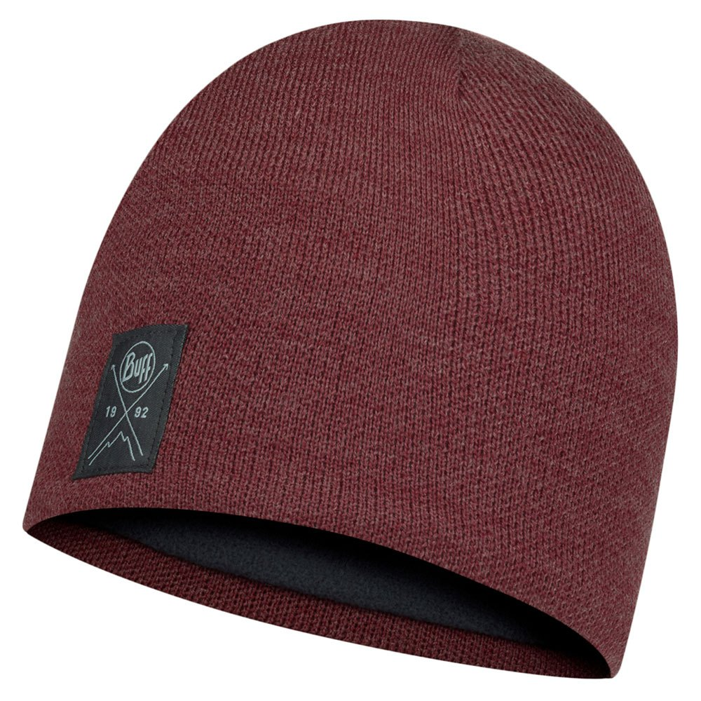 Buff ® Knitted & Polar One Size Solid Maroon