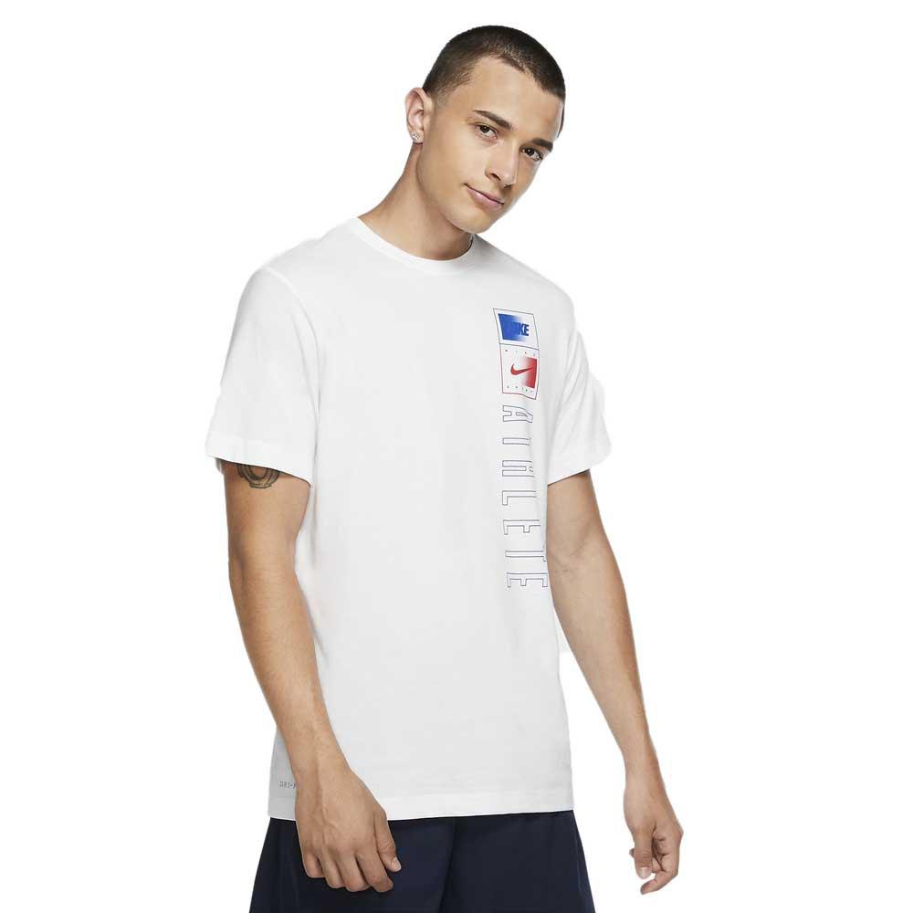 Nike Dri Fit Just Do It Training L White