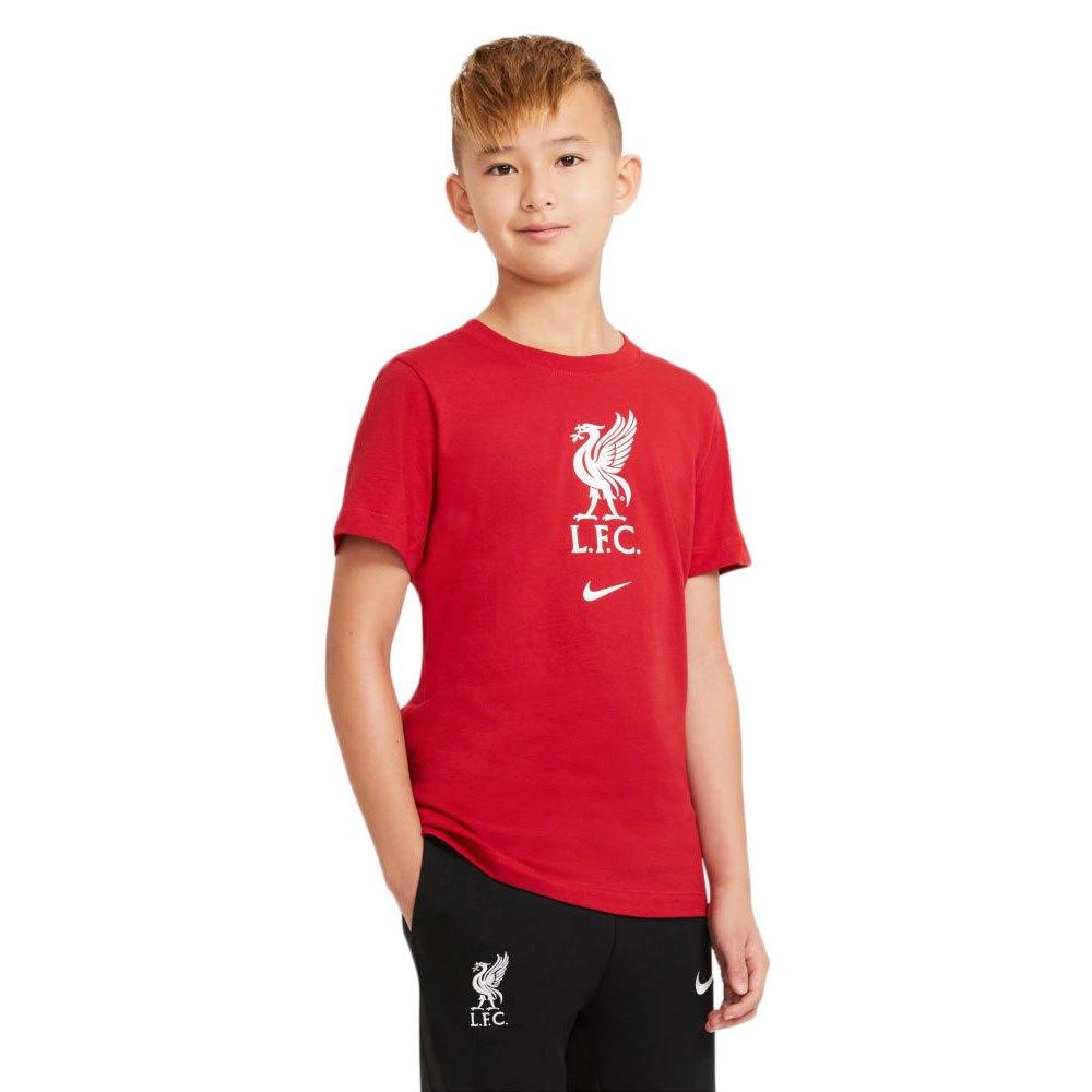 Nike T-shirt Liverpool Fc Evergreen Crest 20/21 Junior XL Gym Red / White