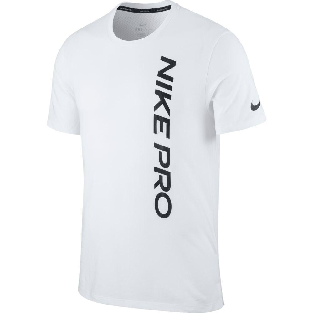 Nike T-shirt Manche Courte Pro Top XXL White / Black
