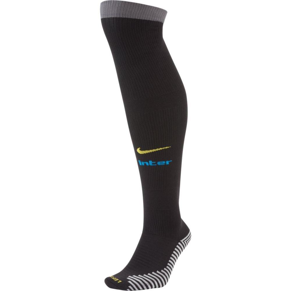 Nike Chaussettes Inter Milan Troisième Stadium 20/21 EU 34-38 Black / Dark Grey / Blue Spark / Tour Yellow