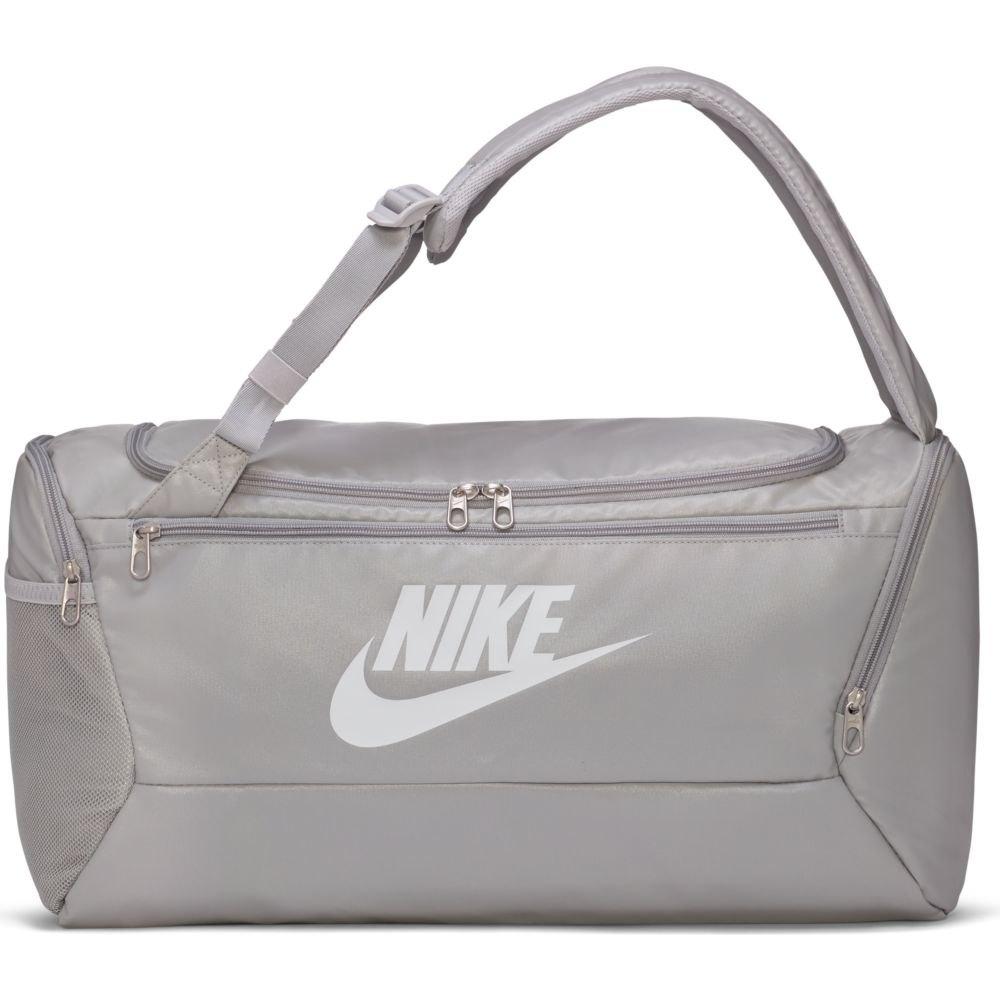 Nike Brasilia Training Duffel One Size Lt Smoke Grey / Lt Smoke Grey / White