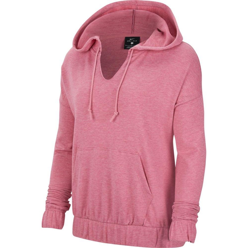 Nike Yoga Pullover S Desert Berry / Htr / Lt Arctic Pink