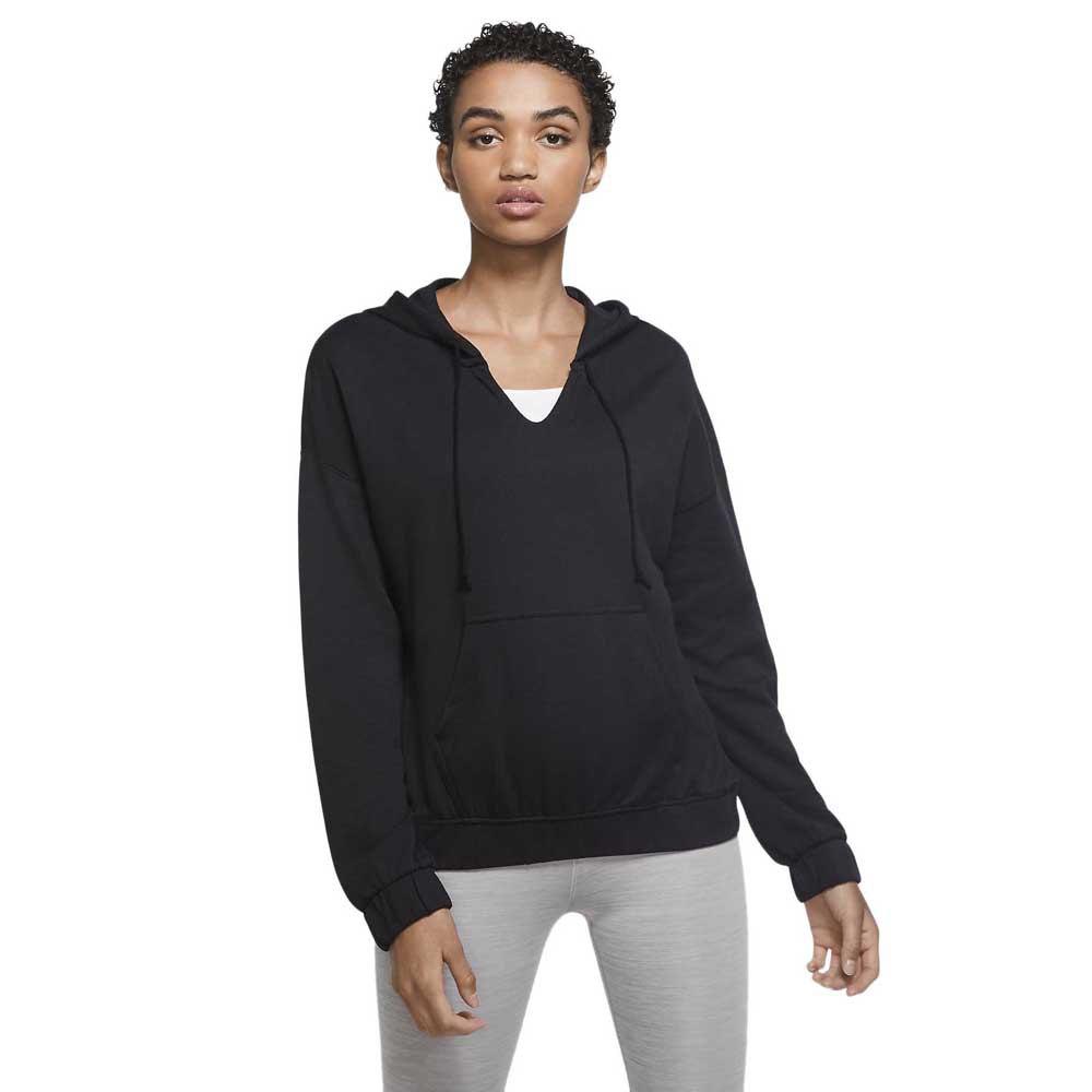 Nike Yoga Pullover S Black / Dk Smoke Grey