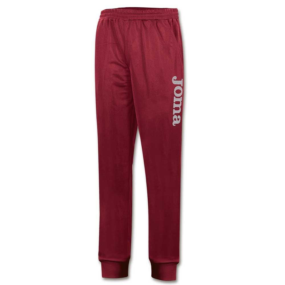 Joma Pantalon Longue Suez Polyfleece XXL Burgundy