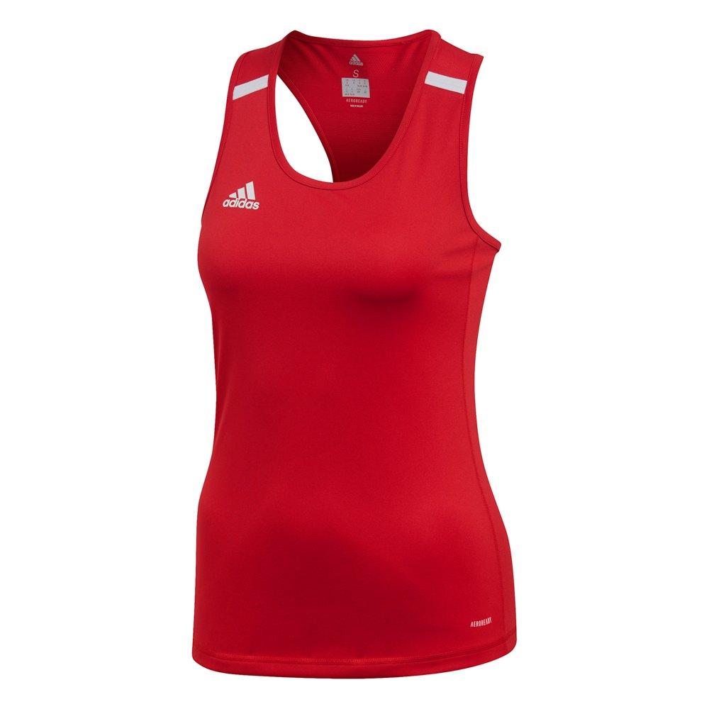 Adidas Badminton Team 19 Singlet XS Power Red / White