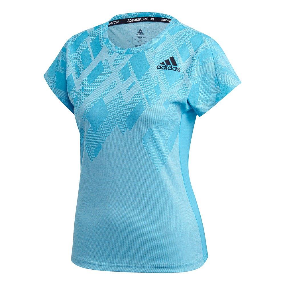 Adidas Badminton Colorblock Pro XS White / Signal Cyan