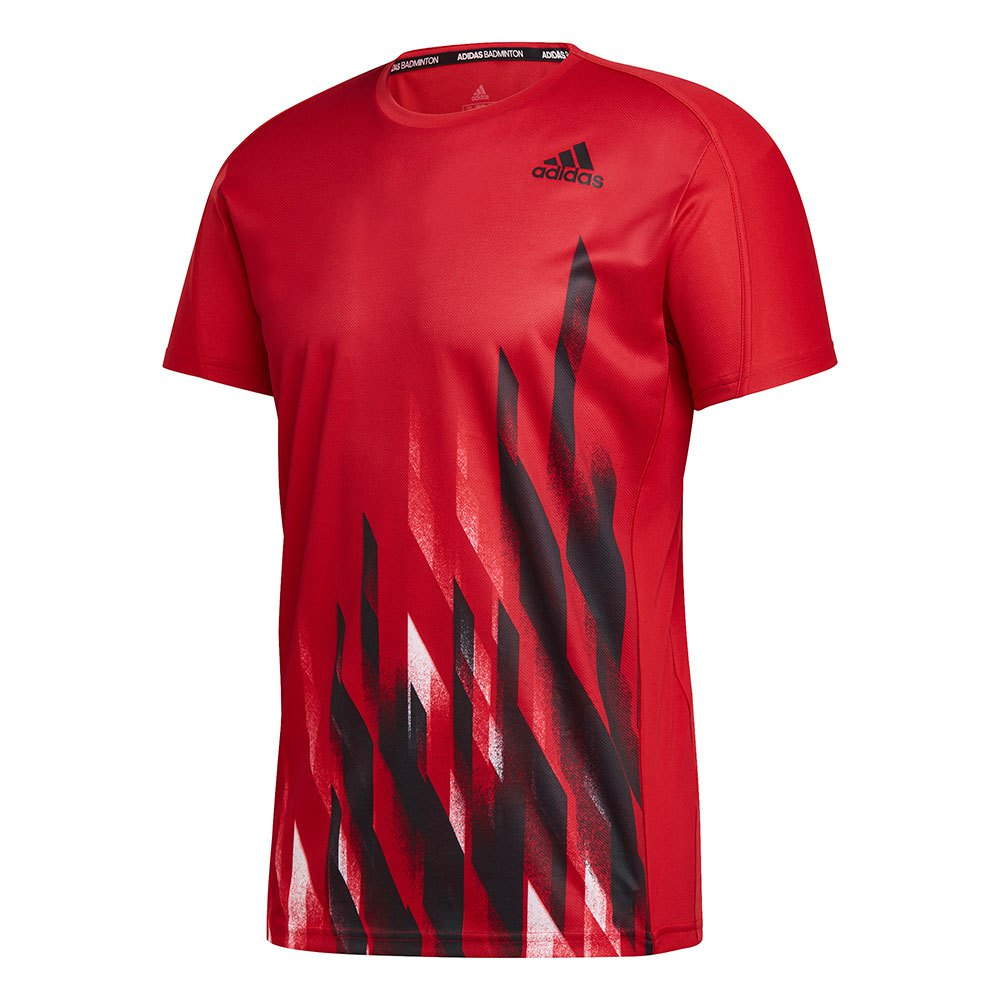 Adidas Badminton Graphic XL Scarlet