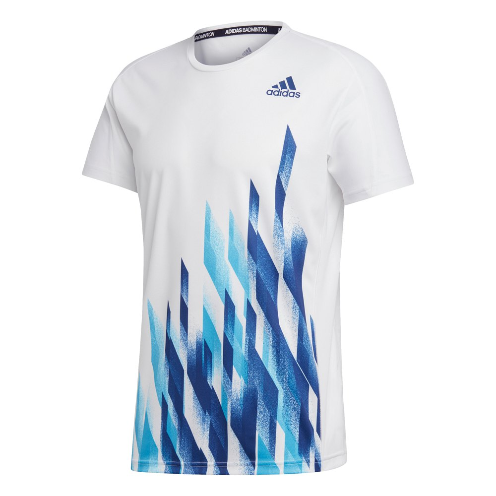 Adidas Badminton Graphic S White