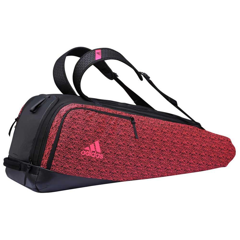 Adidas Badminton Sac Raquettes 360 B7 One Size Black / Red