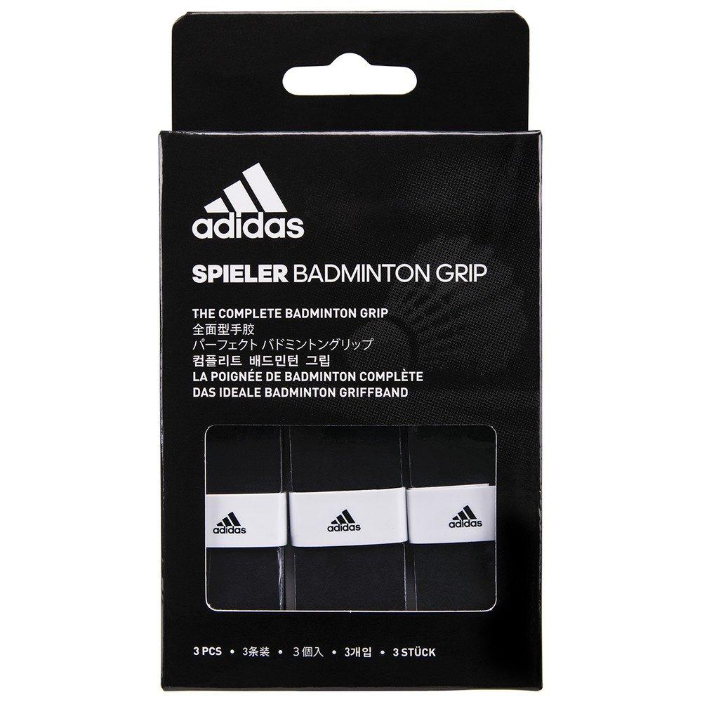 Adidas Badminton Grip Badminton Spieler 3 Unités One Size Black