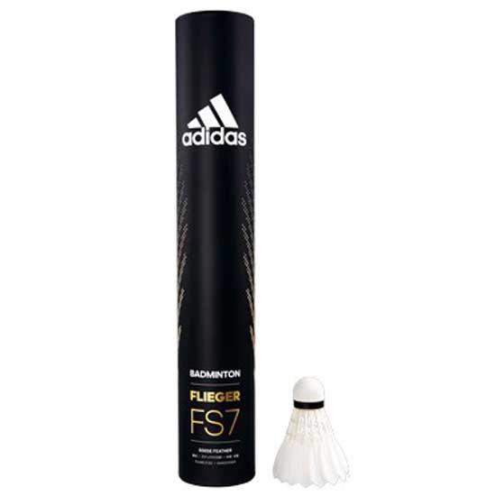 Adidas Badminton Volants Badminton Flieger Fs7 78 12 Units White