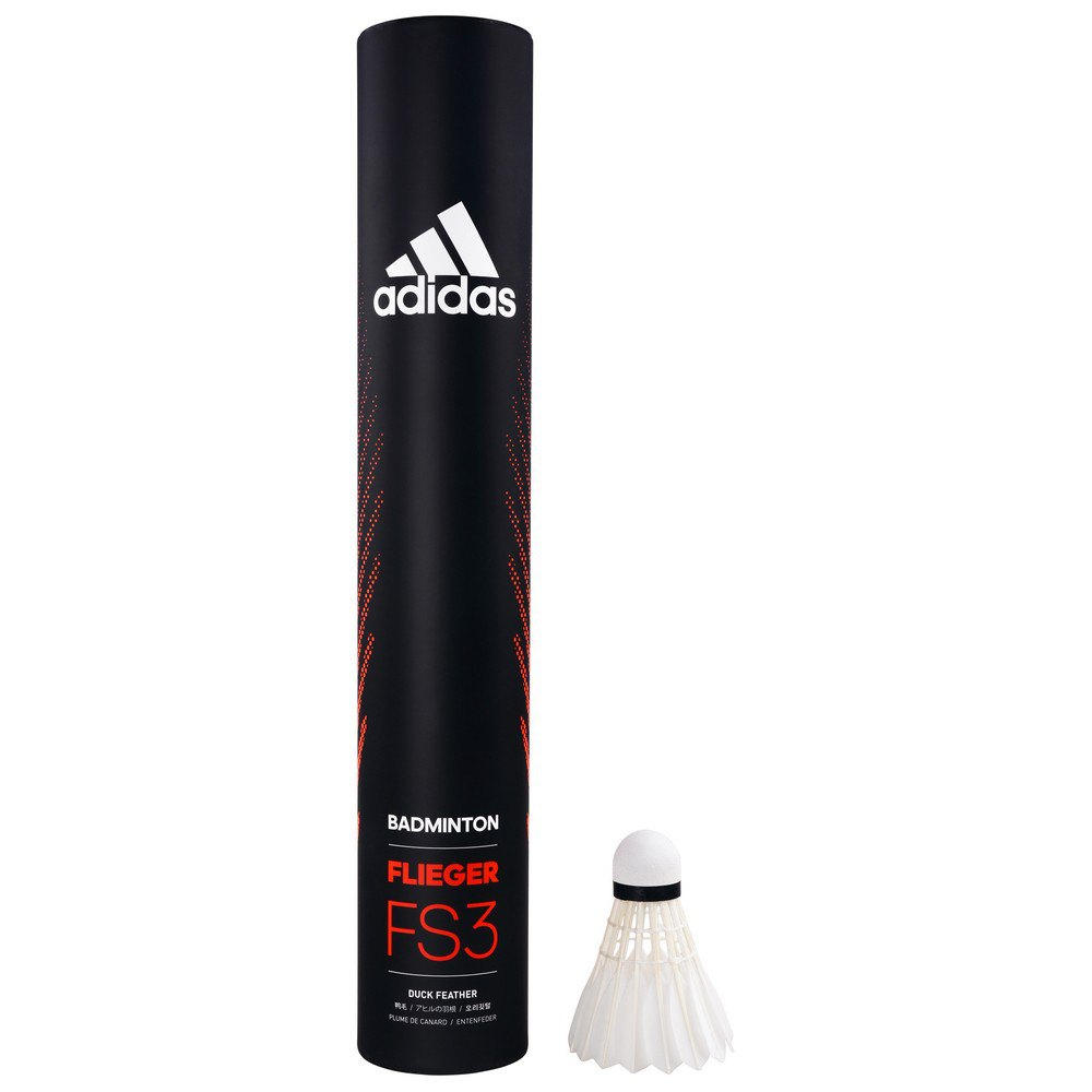 Adidas Badminton Flieger Fs3 77 12 Units White