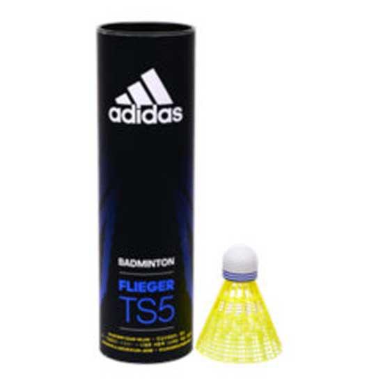 Adidas Badminton Volants Badminton Flieger Ts5 77 6 Units Yellow