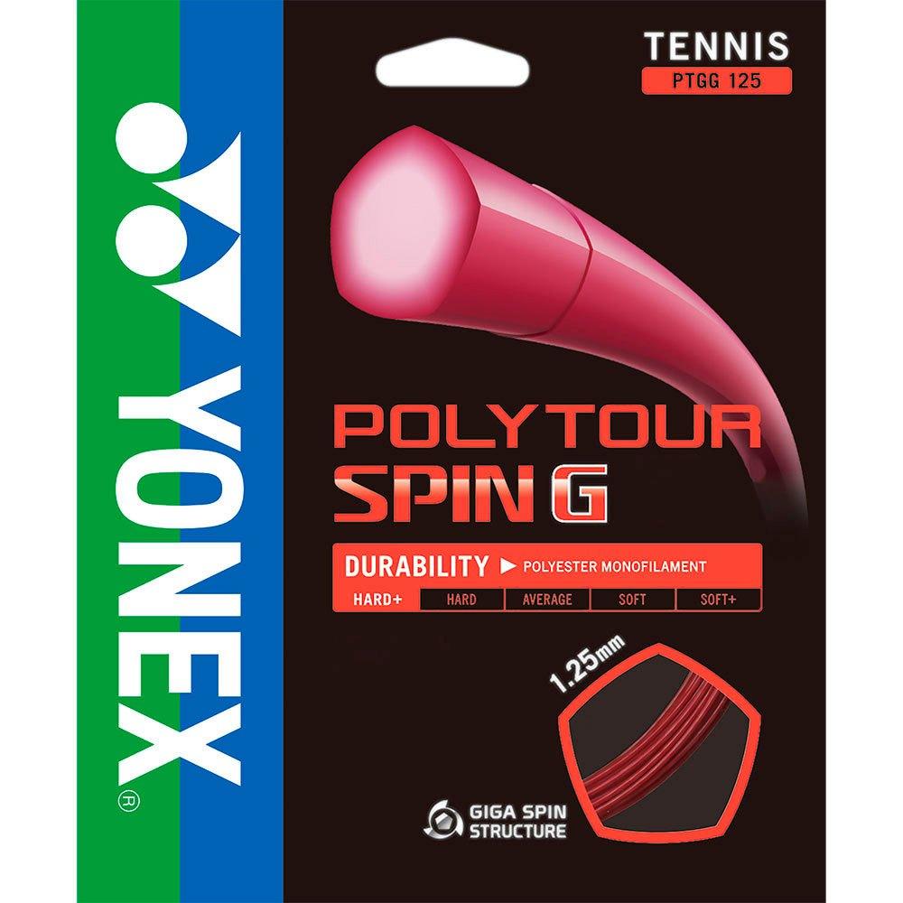 Yonex Poly Tour Spin 200 M 1.25 mm Pink