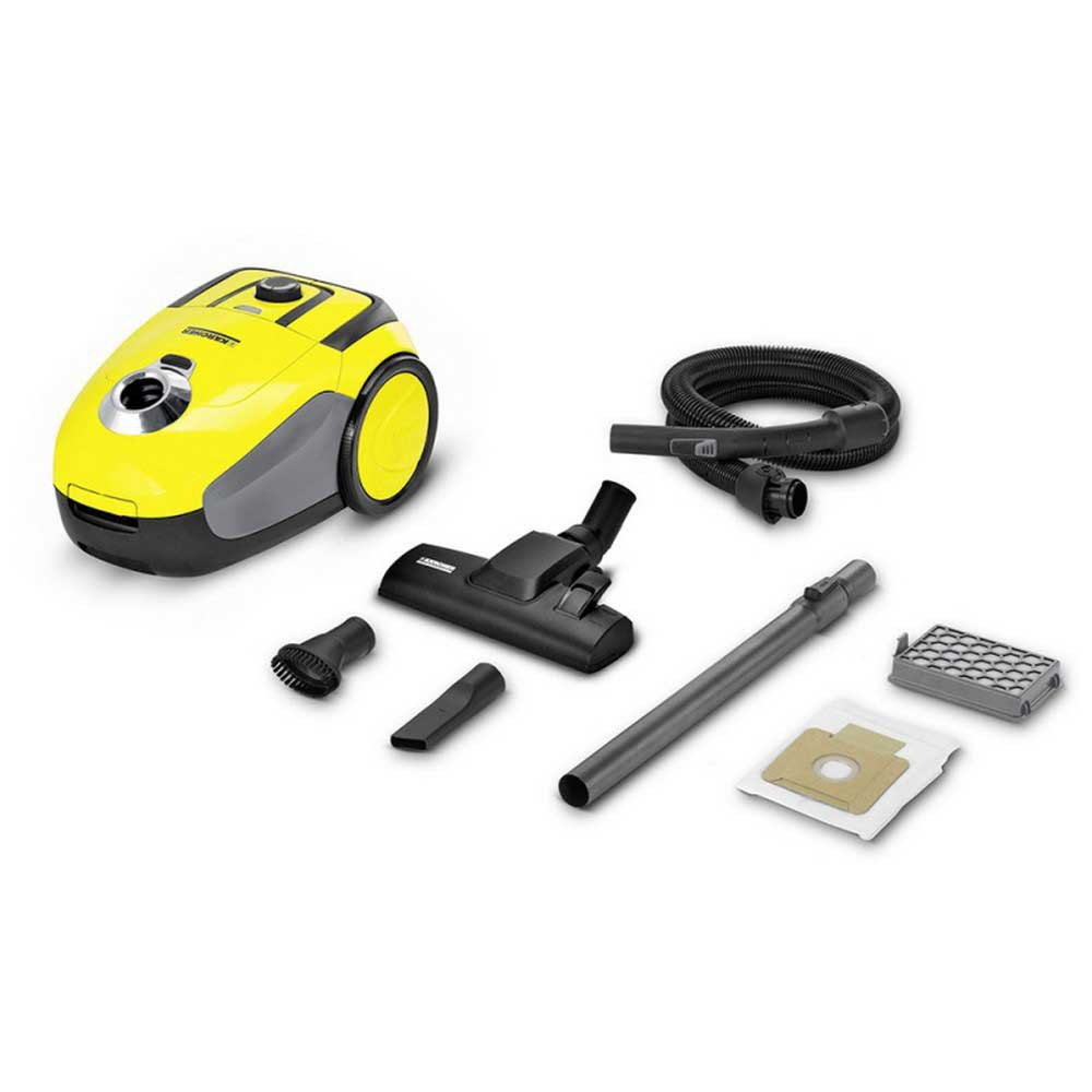 Aspiradora con bolsa Karcher Vc2 700w One Size Yellow / Black