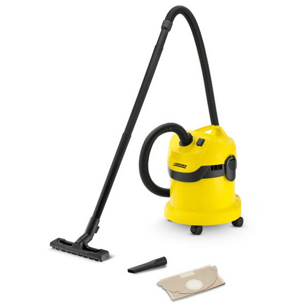 Aspiradora con bolsa Karcher Wd2 180w 12l One Size Yellow / Black