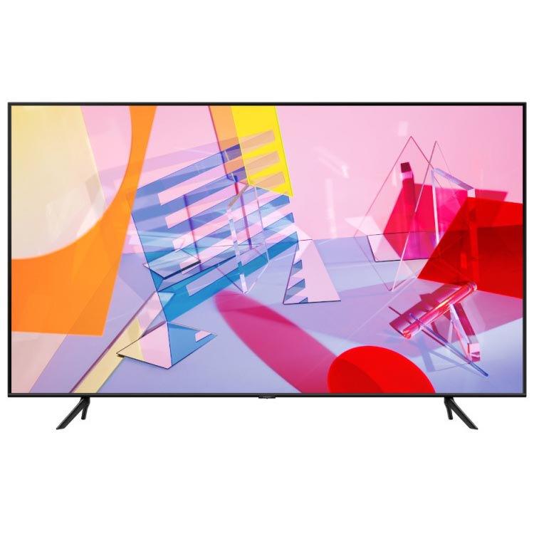 Televisor Samsung Series 6 Qe55q60tau 55'' Uhd 4k Qled Europe PAL 220V Black