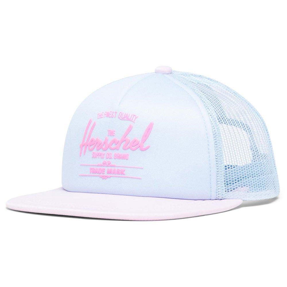 Herschel Whaler Mesh Soft Brim Youth One Size Ballad Blue Pastel / Rosewater Pastel / Neon Pink