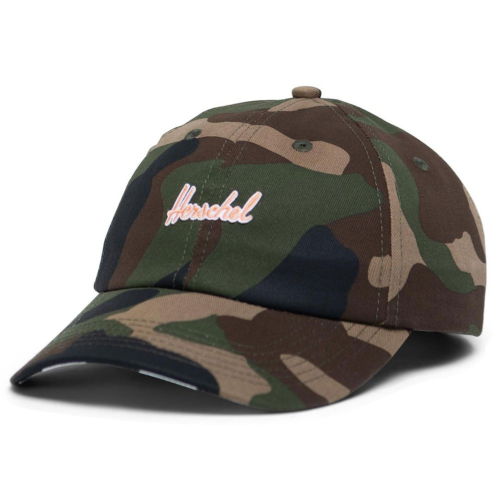 Herschel Sylas Youth One Size Woodland Camo / Neon Orange / Checker Black White Underbill